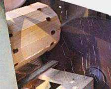 丸を作る機械