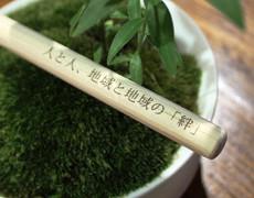 育林材(間伐材)のボールペン