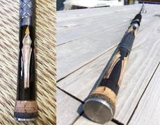 木象嵌を使用した釣具が完成!