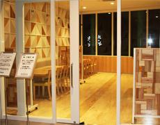 小田原ダイナシティのリニューアルに伴い什器を作製しました。