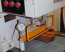 削って均して整える機械