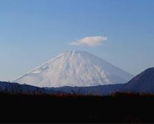 小田原から見る富士山