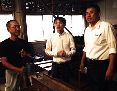 籐芸の山本さんが来社されました