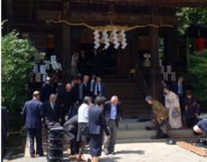 報徳二宮神社 例大祭に出席しました。