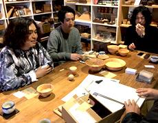 小田原出身バンド「藍坊主」の方々が工場見学に来られました!