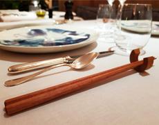 フランスのレストランにて、弊社商品を使用して頂いています。