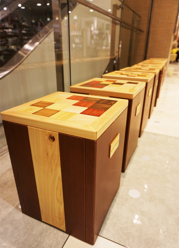 ラスカ小田原様 ワークショップ用の椅子を作製しました