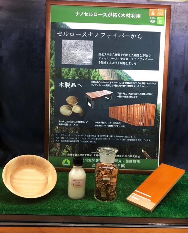 林野庁中央展示にひきよせが展示されました。