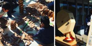 鈴廣かまぼこ『木で遊ぼう』イベントに出展