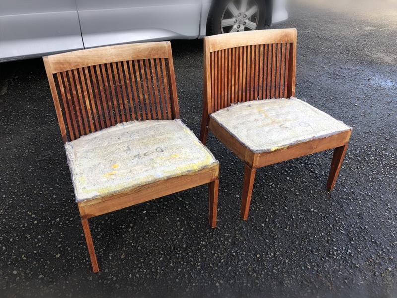 箱根旅館・ホテルの椅子とソファ類の張り替え