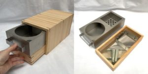 小型炭火調理器具「chibi chibi」の作製