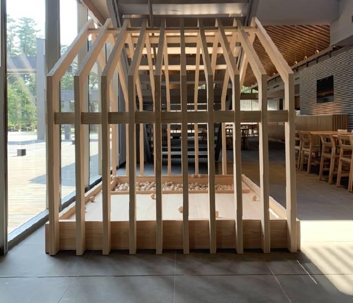 小田原三の丸ホールのキッズスペースを作製⑤