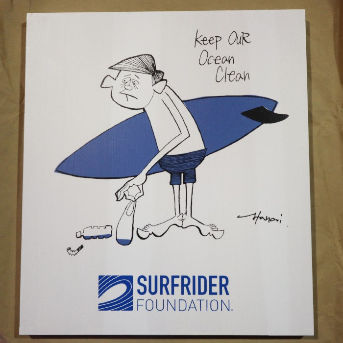 SURFRIDER FOUNDATION さんの看板を作製