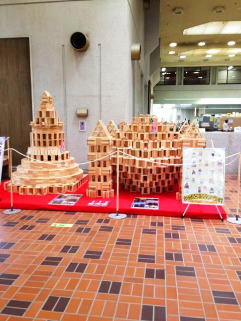 小田原市役所2階の「木っずスペース こゆるぎひろば」