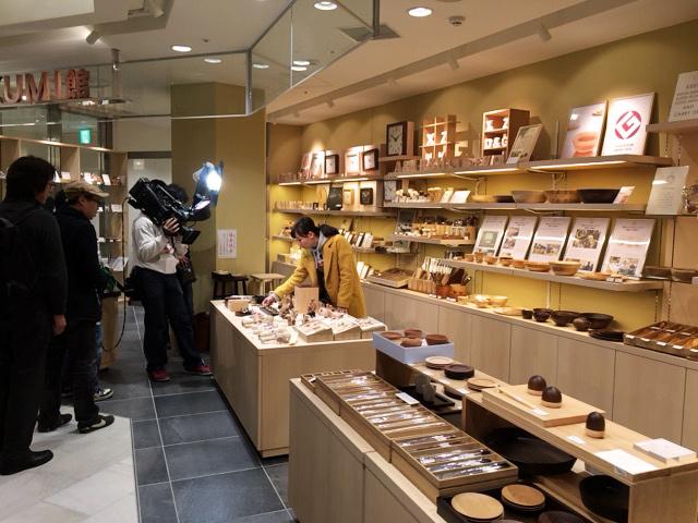 藤本美貴さんがTAKUMI館とラ・ルースに番組収録で来られました