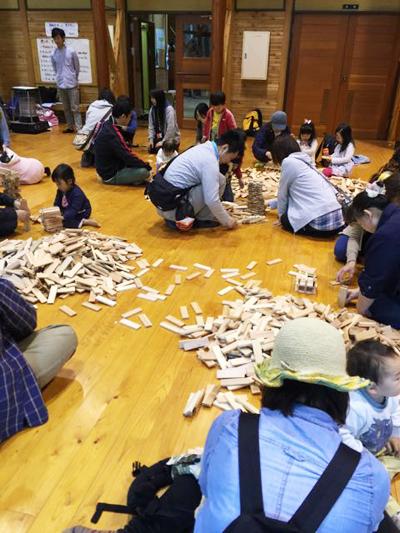 神奈川ゆめコープさん主催 「森のおさんぽと積み木あそび」企画