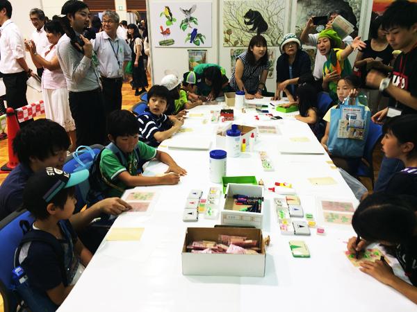 『子ども霞が関見学デー』と農林水産省・林野庁の幹部の方々との面会。