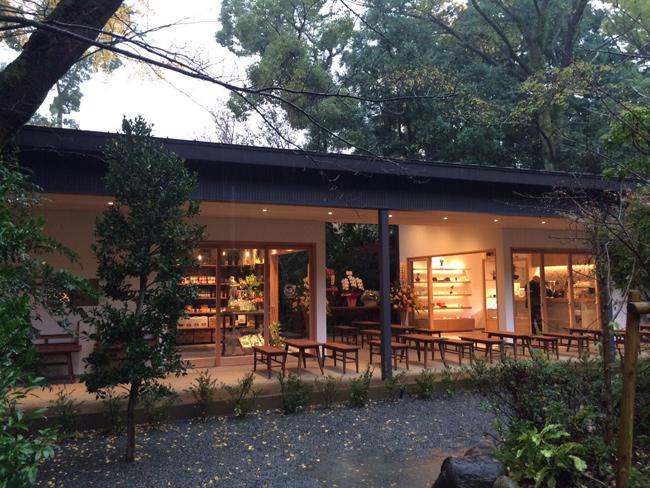 小田原城内報徳の杜(もり)ひろばにオープンカフェが誕生しました。