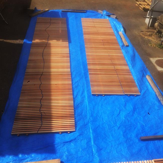 小田原産木材による市庁舎内の木質化