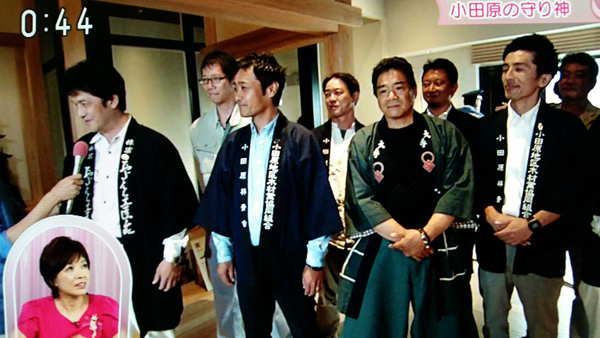 NHKひるブラにて小田原城が取り上げられました&弊社でも撮影があります。