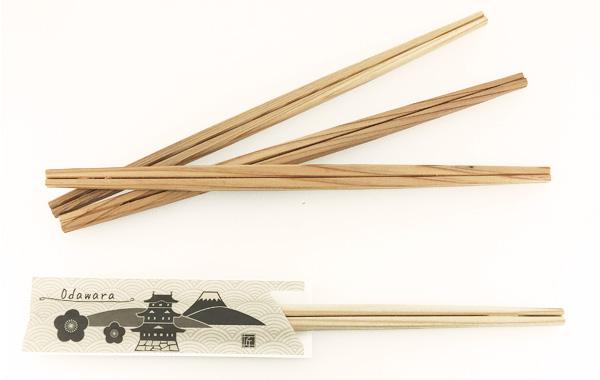 割り箸 育林材