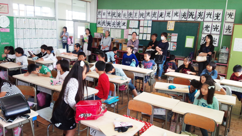 小田原市主催の木育授業に協力させて頂きました。