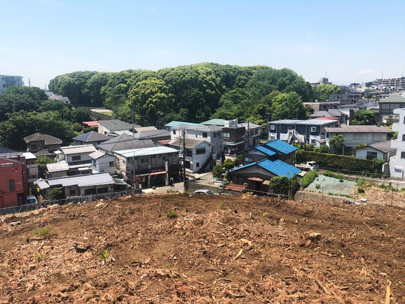 思い出もくもく企画:横浜国立大学の隣接地【伐採・最終】